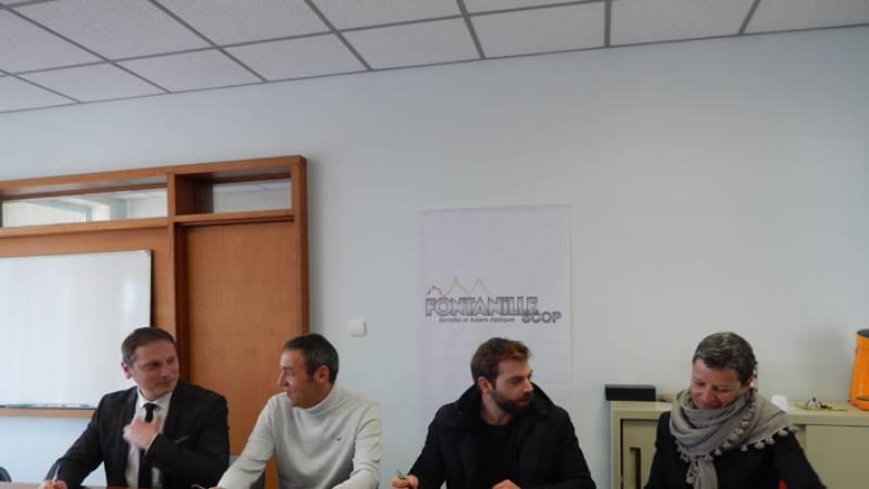 Résidence Jérémy Gobé à la SCOP Fontanille