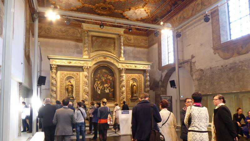 Annonay  Chapelle-Sainte-Marie- inauguration 6 avril 2018