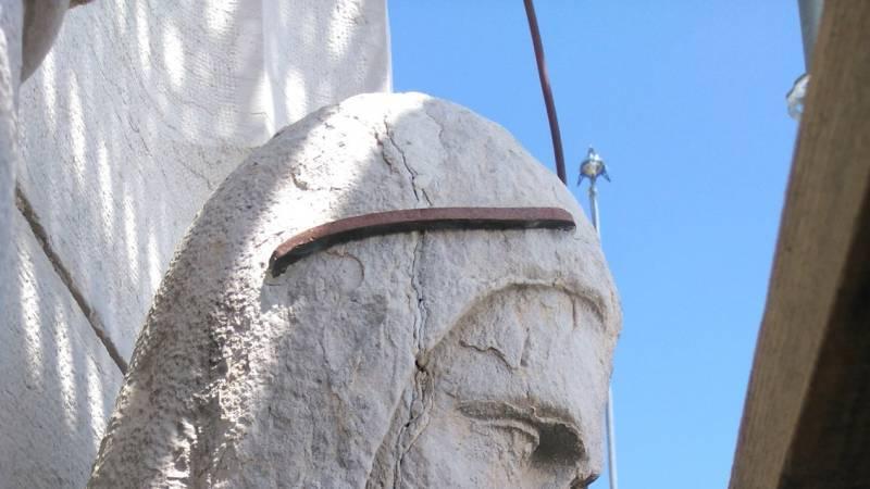 Restauration de la cathédrale de Belley - statuaire avant restauration