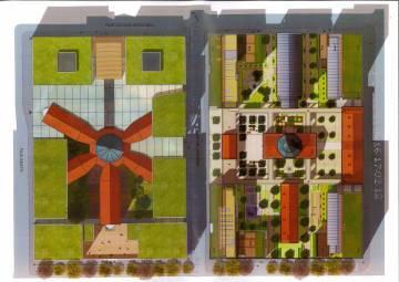 Lyon prisons Saint-Joseph et Saint-Paul plan projet