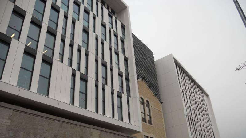 Lyon reconversion ancienne Prison Saint-Paul façade nord