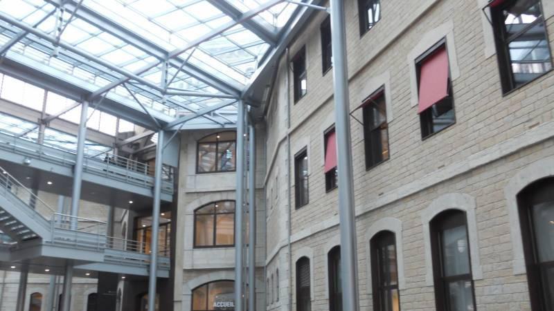 Lyon reconversion ancienne Prison Saint-Paul grande verrière