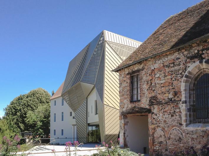 Le mupop de montlu on dialogue entre architecture for Jardin wilson montlucon