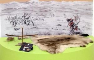 montluçon exposition préhistoire mode de vie des chasseurs-cueilleurs nomades