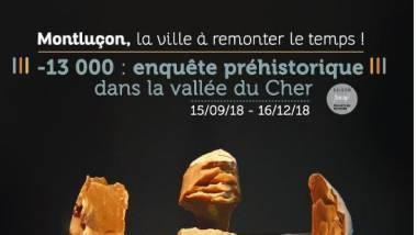 Montluçon exposition préhistoire