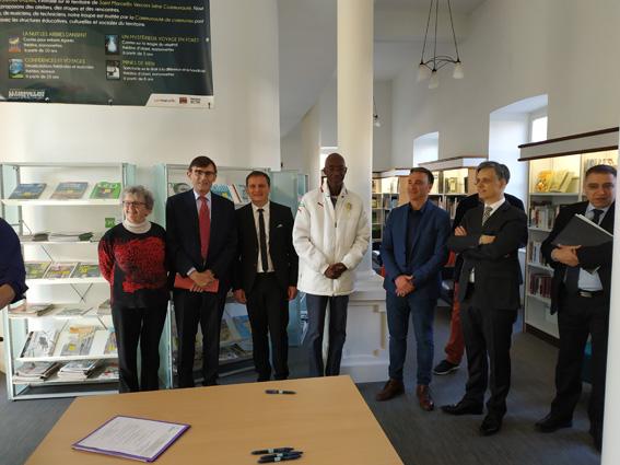 Signature d'un CTEAC et d'un CTL avec Saint-Marcellin Vercors Isère Communauté