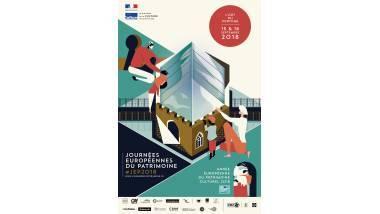 Visuel des Journées européennes du patrimoine 2018