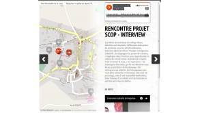 Web doc résidence éducation artistique et culturelle pays de Vernoux