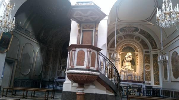 Eglise Saint-Bruno-les-Chartreux à Lyon - chapelle restaurée et non restaurée