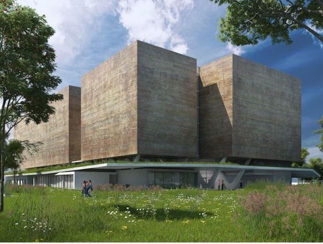 Futur bâtiment des archives départementales de l'Isère