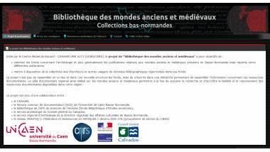 Logo de la bibliothèque des mondes anciens et médiévaux