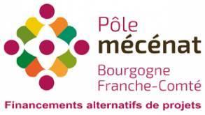 logo pôle mécénat Bourgogne