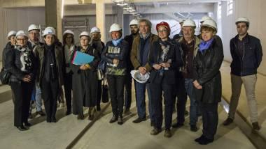 Centre de Conservation et Etudes de Lorraine - Visite de chantier le 14 octobre 2016