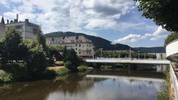 Saint-Dié. Aménagement paysager des rives de la Meurthe