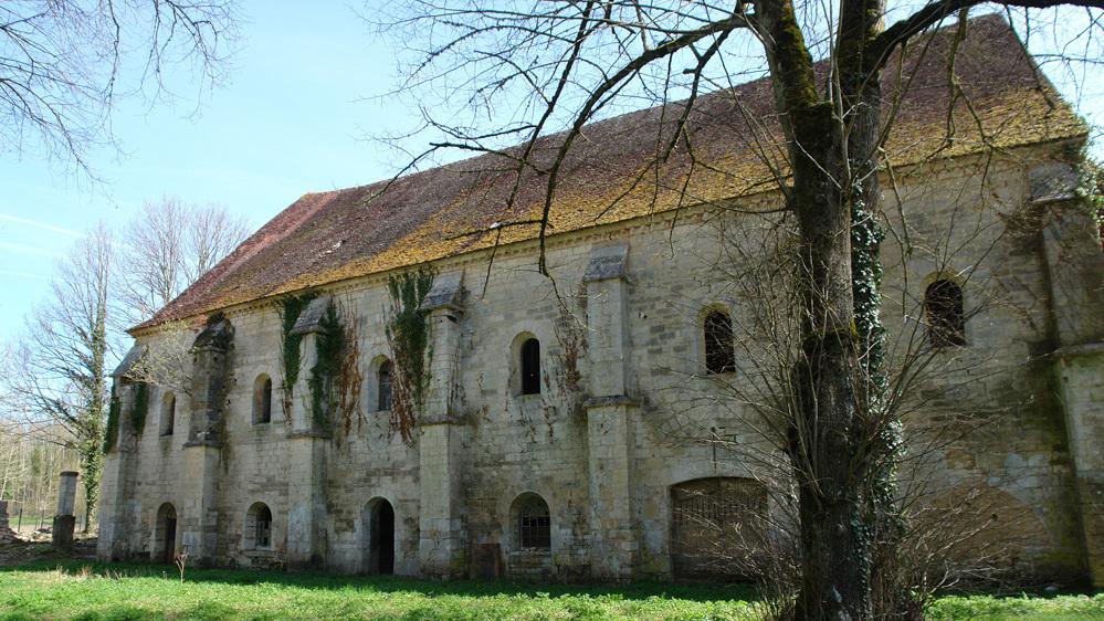 Ancienne abbaye de Longay (Auberive-sur-Aube). Façade ouest © Gilles Vilain