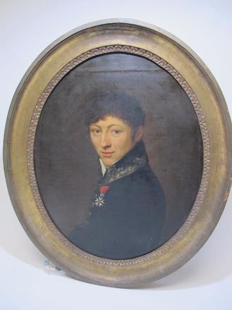 Jean-Baptiste Couvelet (Charleville 1772- Mézières 1830). Portrait d'Alexandre Godard, ancien maire de Châlons-en-Champagne