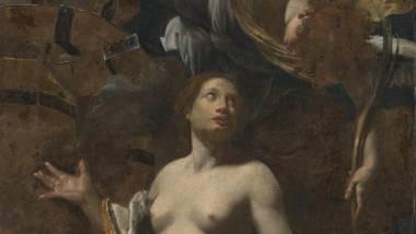Simon Vouet, Le martyre de sainte Catherine, image numérique en lumière réfléchie, couleurs