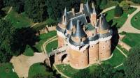 Vue aérienne du Château et du parc
