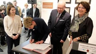 Première signature d'un contrat culture ruralité, à l'échelle de la région Hauts-de-France dans la communauté de communes de l'Oise Picarde