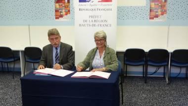 Signature convention entre l'Etat et l'URCAUE.