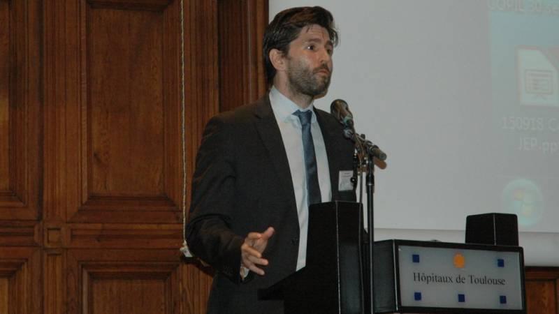 John Palacin, président de l'Acir Compostelle