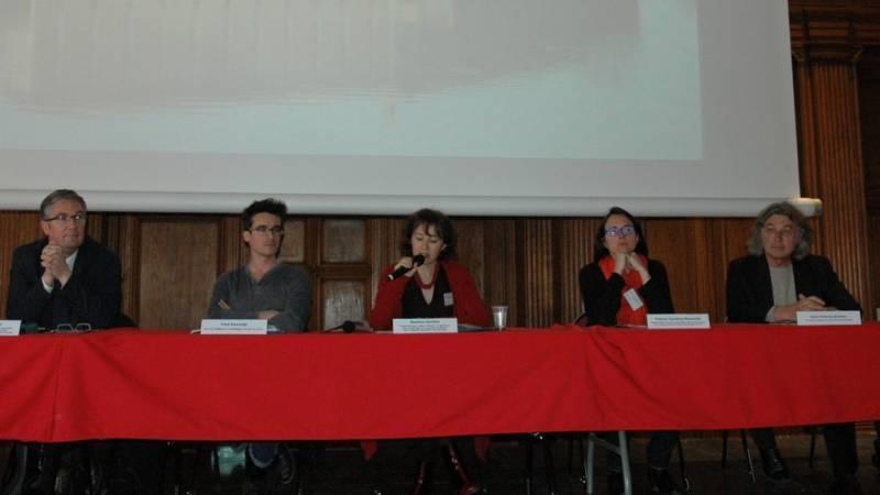 Philippe Mercier, Fred Sancère, Martine Cécillon, France-Caroline Menautat et Jean-Patrice Brosse