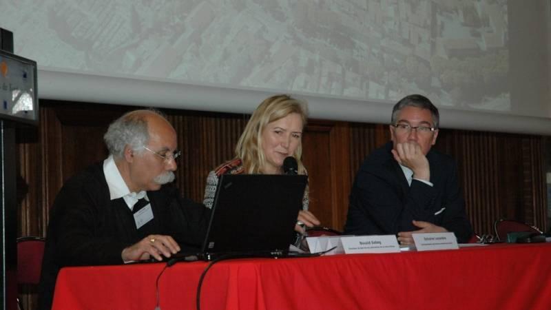 Sylvaine Leyondre, Bouzid Sabeg et Philippe Mercier