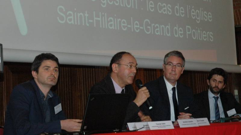 Thomas Gatel, Jean-Marie Compte, Philippe Mercier et John Palacin