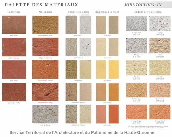 Matériaux Midi-toulousain