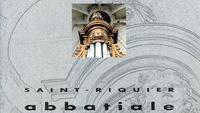 """Visuel de la plaquette """"Patrimoine restauré"""", le Grand Orgue de l'abbatiale de Saint-Riquier"""