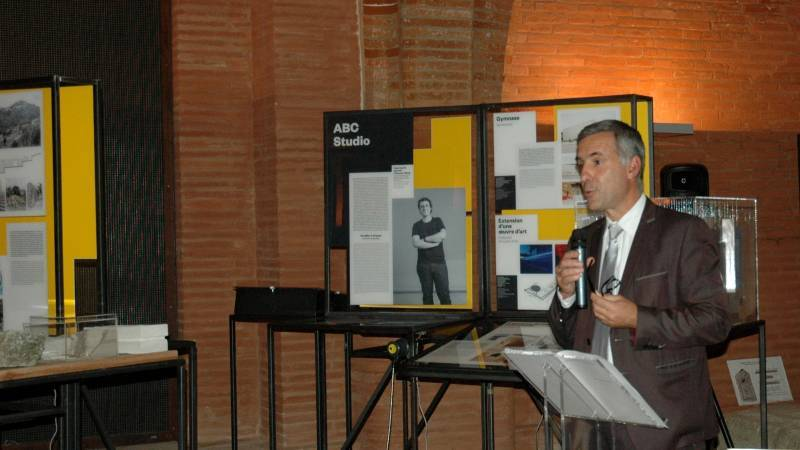 Inauguration des expositions