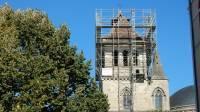 Échafaudage du clocher