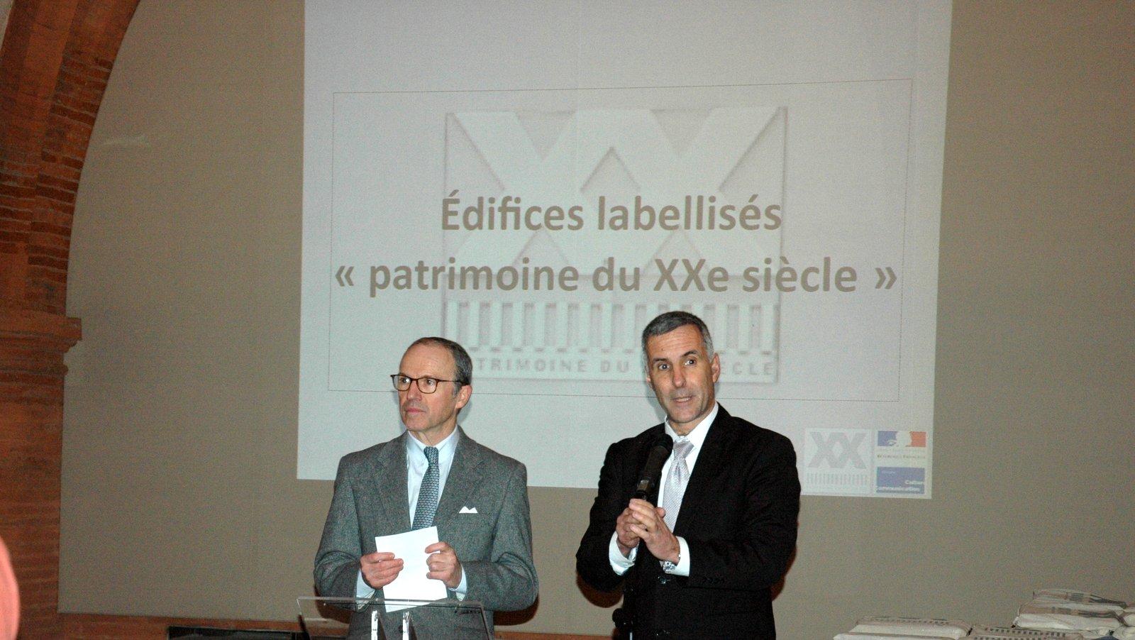Pascal Mailhos et Laurent Roturier