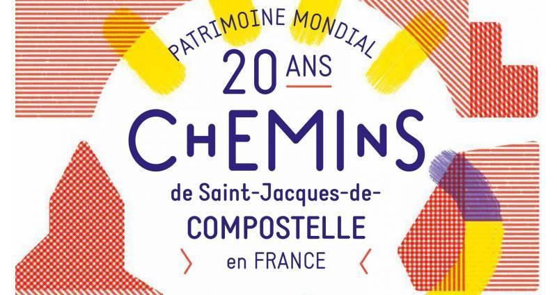 Visuel 20 ans Chemins Saint-Jacques
