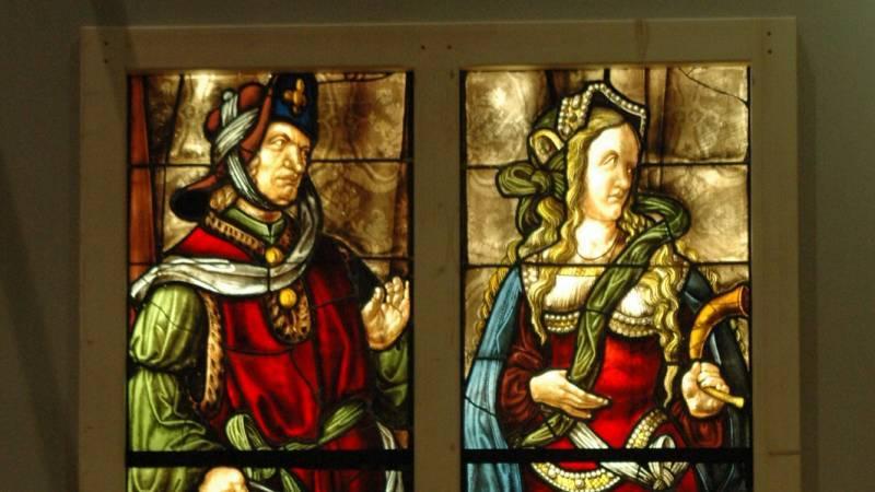 Le prophète Daniel et la sibylle cimmérienne