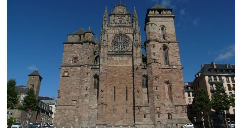 Cathédrale de Rodez, façade occidentale
