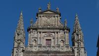 Cathédrale de Rodez, tempietto encadré de pinacles