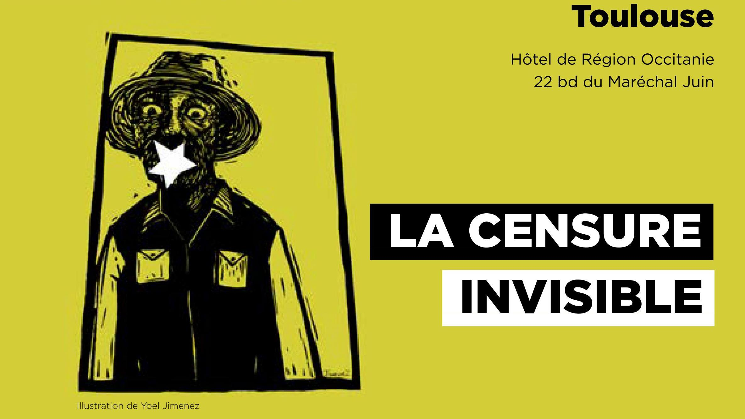 Visuel Journée censure