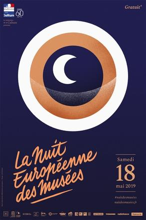 Affiche Nuit des musées 2019