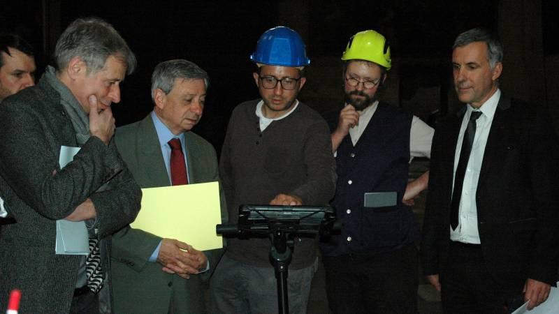Présentation de la prospection géophysique au préfet de région