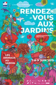 Affiche Rendez-vous aux jardins 2019