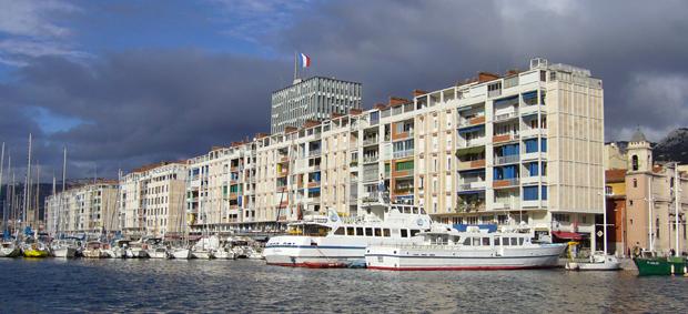 La Frontale du port de Toulon