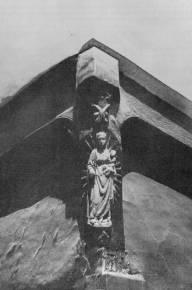 La vierge aux rayons vers 1900