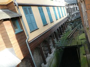 Le moulin Passe-Avant (à droite), Amiens