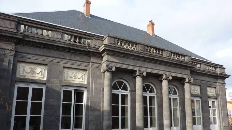 Hôtel de Chazerat - Clermont-Ferrand - Façade Sud