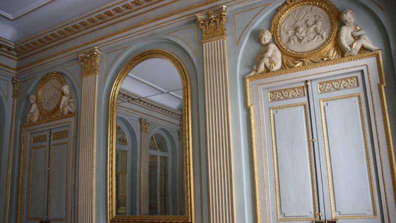Hôtel de Chazerat - Clermont-Ferrand - Salon doré -