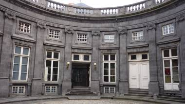 Hôtel de Chazerat - Clermont-Ferrand - Cour ovale