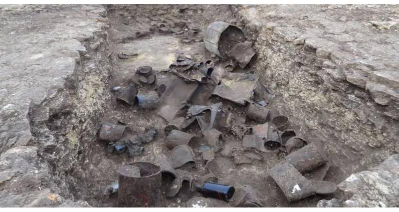 archeologie des conflits contemporains