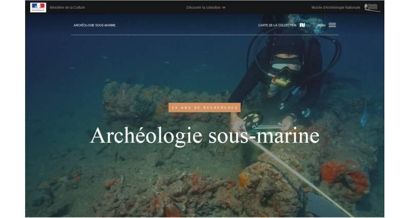 """Un nouveau site pour l'archéologie sous-marine dans la collection des """"Grands sites archéologiques"""""""