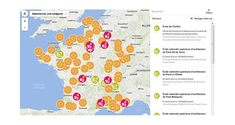 Carte Belgique Enseignement.Enseignement Superieur Et Recherche Ministere De La Culture